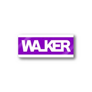 WALKER ステッカー Stickers