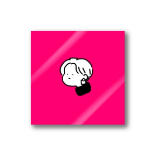 moi_pink Stickers