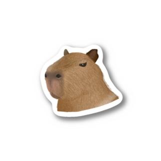 カピバラ Stickers