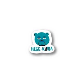 ヒゲクマ Stickers