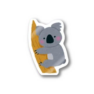 オーストラリアのコアラを助けよう!募金 Sticker