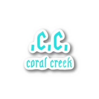 コーラルクリークオリジナルウェア Stickers