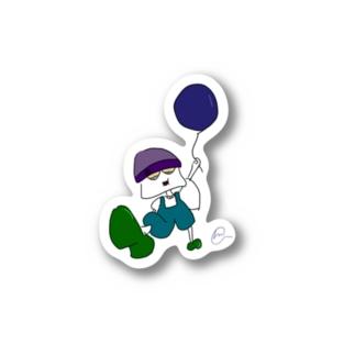 イタズラ好きの少年 Stickers