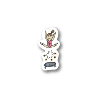 スポーツ女子yuu Stickers