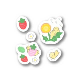 もきゅの収穫祭:ステッカーNo3 Stickers