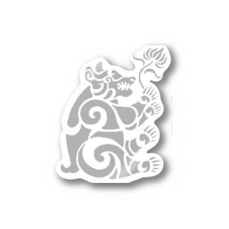 中南米風のクマ Stickers