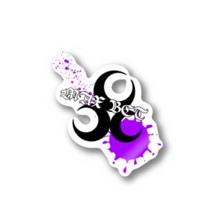ロゴステッカー【PURPLE】 Stickers