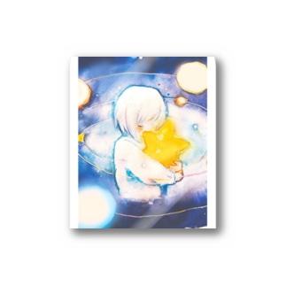 星を抱く Stickers