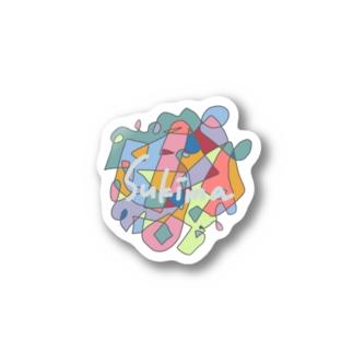 Sikimaカラフル Stickers