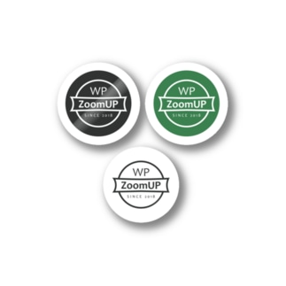 WP ZoomUP ミニサイズロゴ Stickers