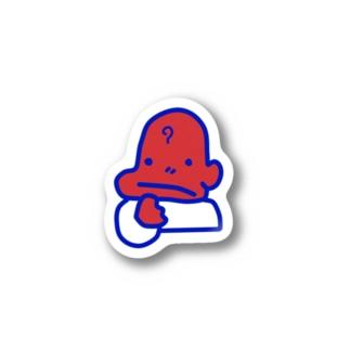 NAZOくん ステッカー Stickers