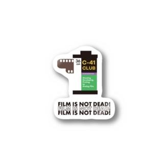 film is not dead Stickers