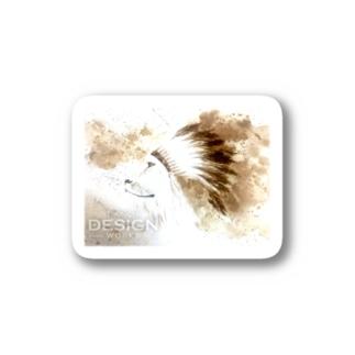 LION HEART Stickers