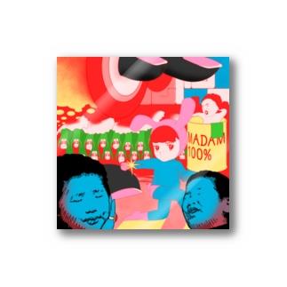 ハチアワセパーティ Stickers