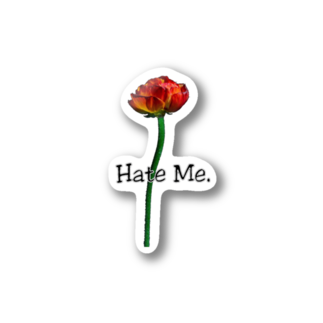 Lil'Tyler's Clothing.の「Hate Me FLOWER」 Stickers