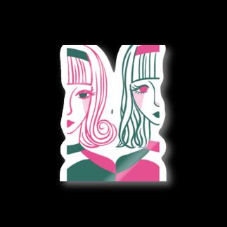 Anne_k36のふたごの世界 Stickers