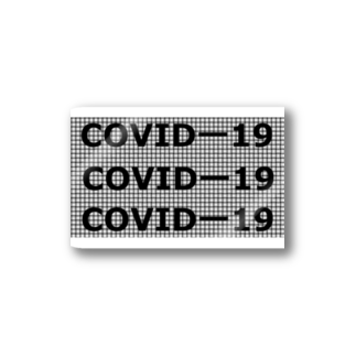 G-HERRING(鰊;鮭;公魚;Tenkara;SALMON)のCOVIDー19 Stickers