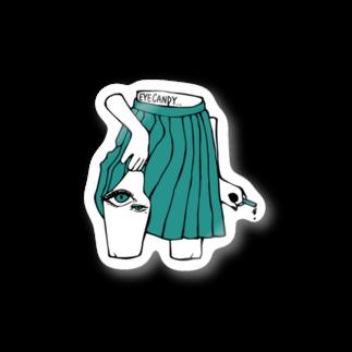 EYECANDYのskirt Stickers