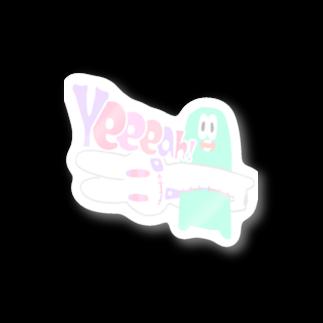 aonoanoaoのZipper Rabbit Stickers