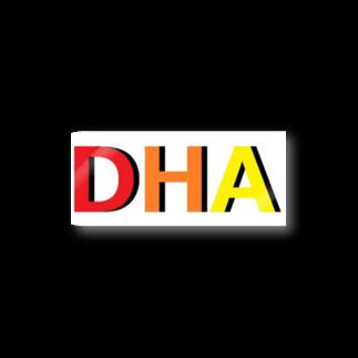 アメリカンベースのDHA Stickers