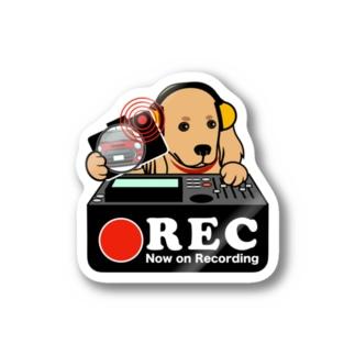 ミニチュアダックスフンド-2 ドラレコステッカー Stickers