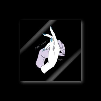 ElkRueのHand Sign_Rabbit Stickers