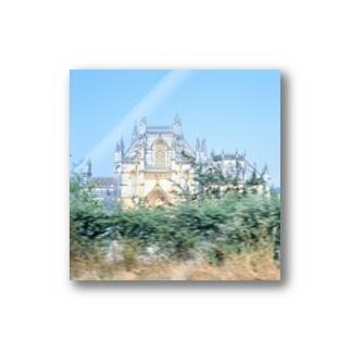 ポルトガル:バターリャ修道院 Portugal: Batalha Monastery Stickers