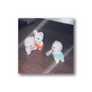 戯れているシルバニアファミリーの赤ちゃん Stickers
