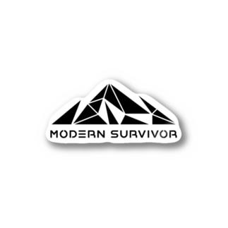 モダンサバイバー Stickers