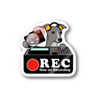 イタリアングレイハウンド ドラレコステッカー Stickers