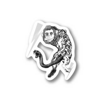 鵺 Stickers