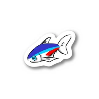 ネオンテトラ Stickers