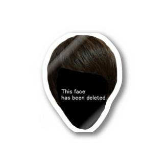 この顔は削除されました Stickers