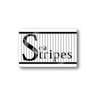 Seastripes別Verロゴステッカー Stickers