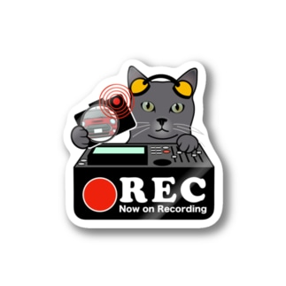 ロシアンブルー ネコ 猫 ドラレコステッカー Stickers