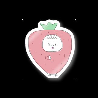 takonoraisuの🍓 い ち ご × 女 の 子 👧🏻 Stickers