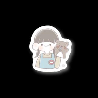 うさぎもちのほいくしちゃん Stickers