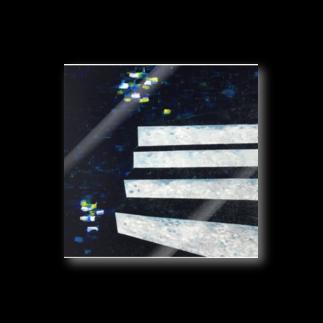 NAGISA STAIRSの階段-遠いマチアカリ- Stickers