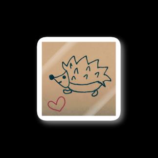 幸せハリネズミの幸せハリネズミ Stickers
