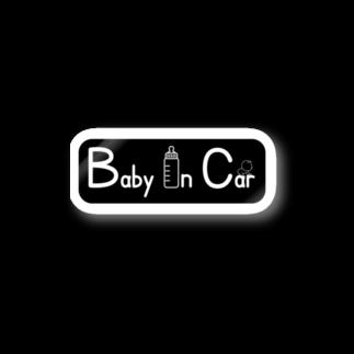 まっさんのbaby in car Stickers