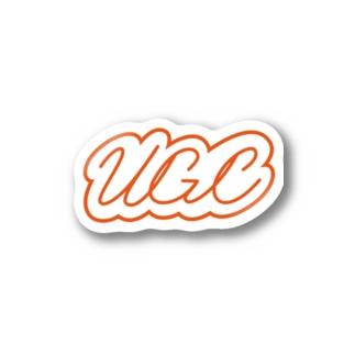 UGC(オレンジ) #Nton  Stickers