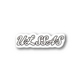 ULSSAS(ブラック) #Nton  Stickers