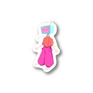 てれびちゃん Stickers