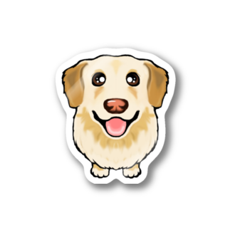ABCDOGSのしろうさん Stickers