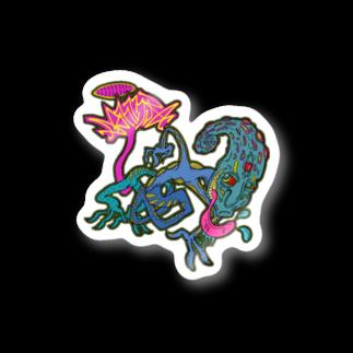 ashinouraの殻を破れ Stickers