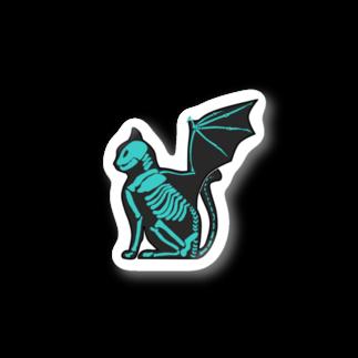 GAB!の猫蝙蝠 Stickers