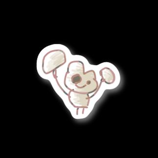 桃宮の不思議な猫ハンマー Stickers