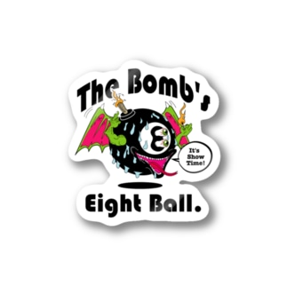 The Bomb's Eight Ball Stickers
