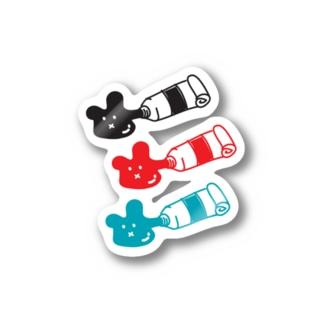 えのぐま Stickers