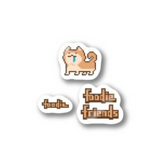 はらぺこわんこ Stickers